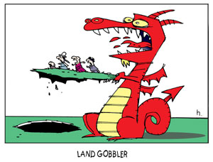 Land Gobbler Dragon
