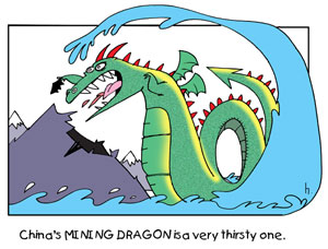China's mining dragon is a very thirsty one