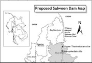 Proposed Salween Dams in Burma