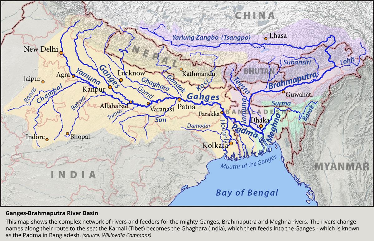 Plateau Maps Meltdown In Tibet