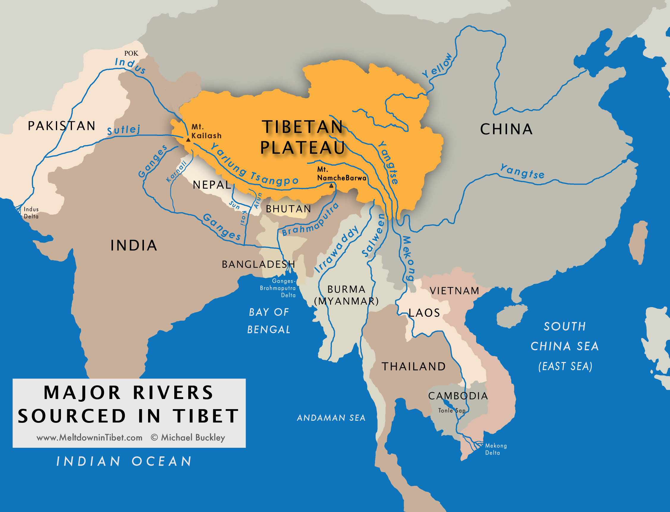 River by River: Meltdown in Tibet